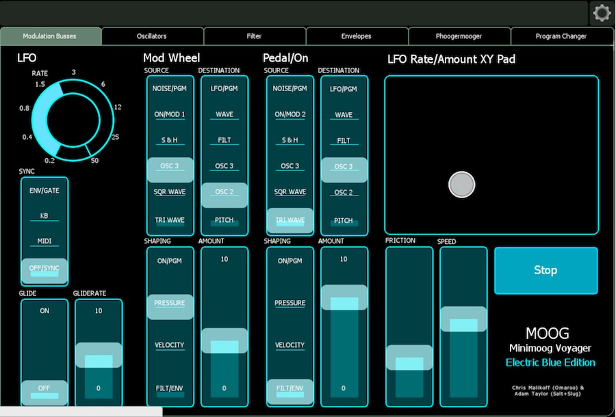 OSC控制工具:Liine Lemur  iOS