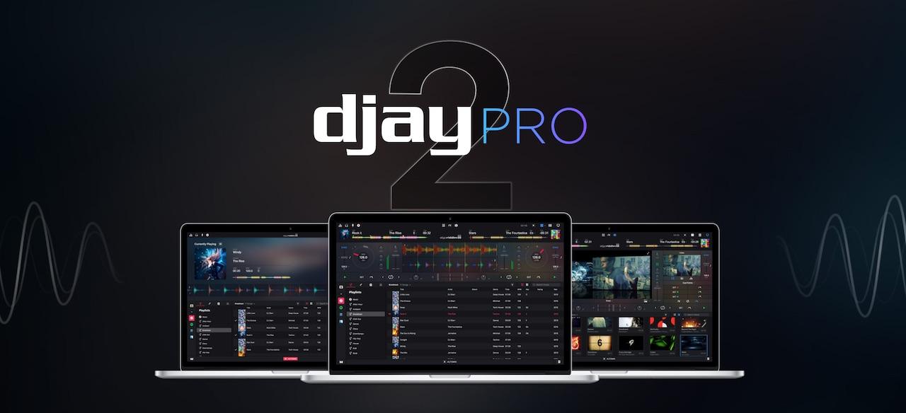 Mac系统DJ/VJ软件: djay Pro 2