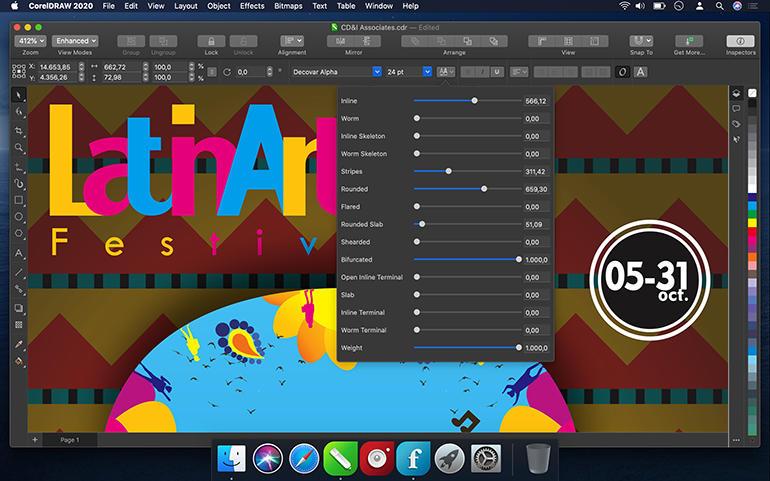 专业矢量插图:CorelDRAW 2021 Mac版