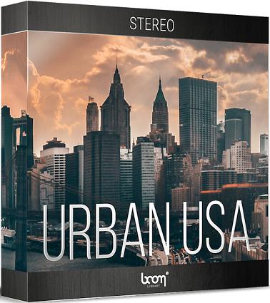 城市环境音效:Urban USA立体声