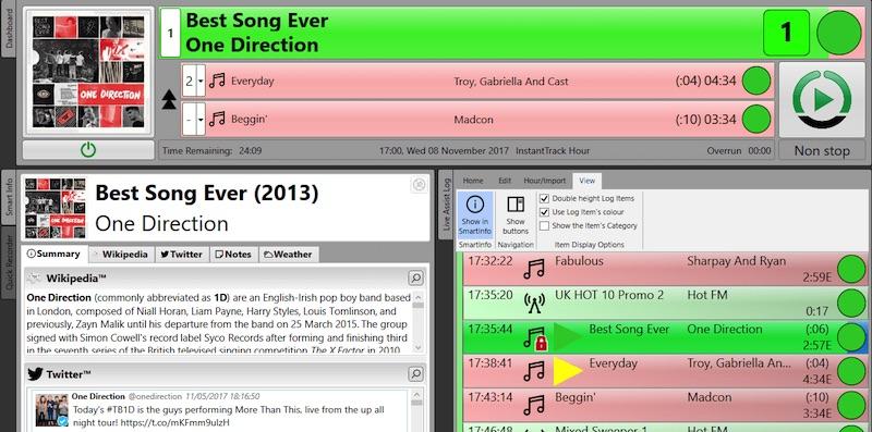 电台软件: Myriad Playout