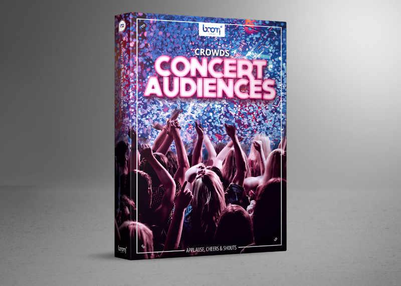音乐会观众音效:CROWDS – CONCERT AUDIENCES