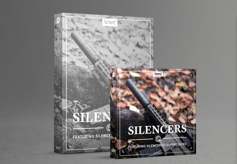 消音器音效:Silencers.Bundle