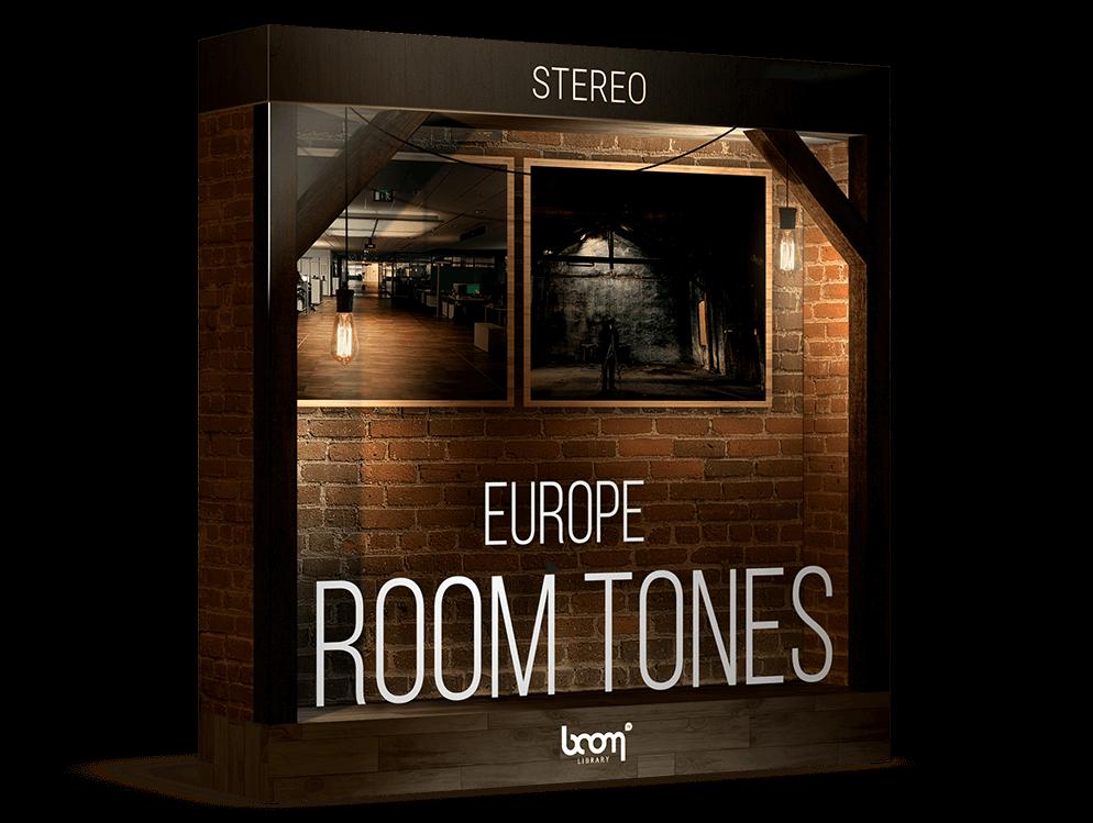 Boom Library音效:房间环境音效 Boom Room Tones EU Stereo
