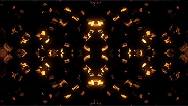 橙色马赛克 Orange Shapes Mosaic