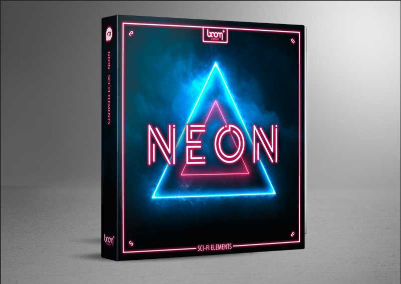 Boom Library音效:  NEON