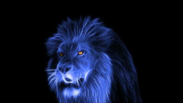 全息 幽灵狮子