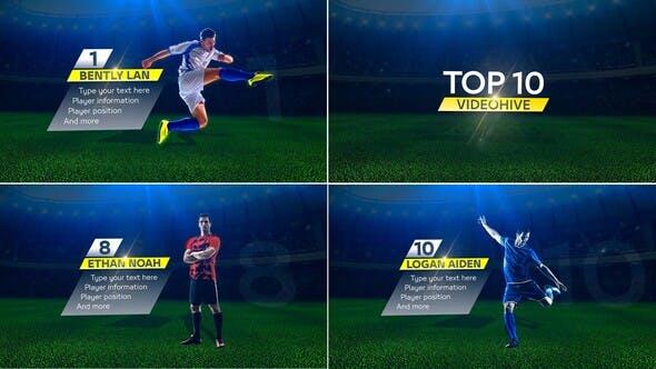 Top 10 players 排名前10名单