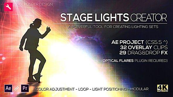 舞台灯光模板:Stage Lights Creator V2