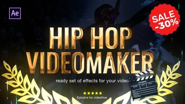 Hip Hop Music Video Editor 2.0